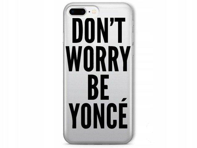 Etui Case Silikon Obudowa iPhone 7 8 Beyonce