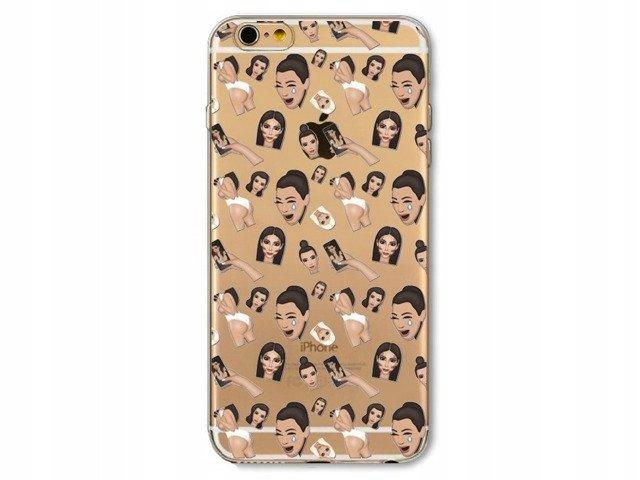 Etui Case Silikon iPhone 5 5s SE Kim Kardashian