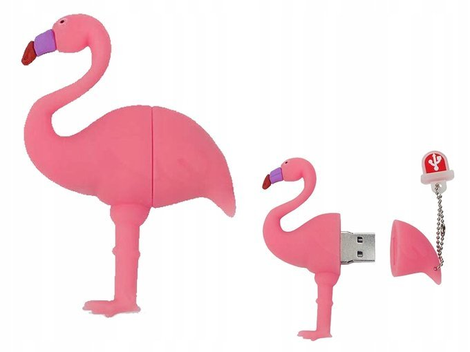 PENDRIVE FLAMING Róż Ptak PAMIĘĆ USB Flash 32GB