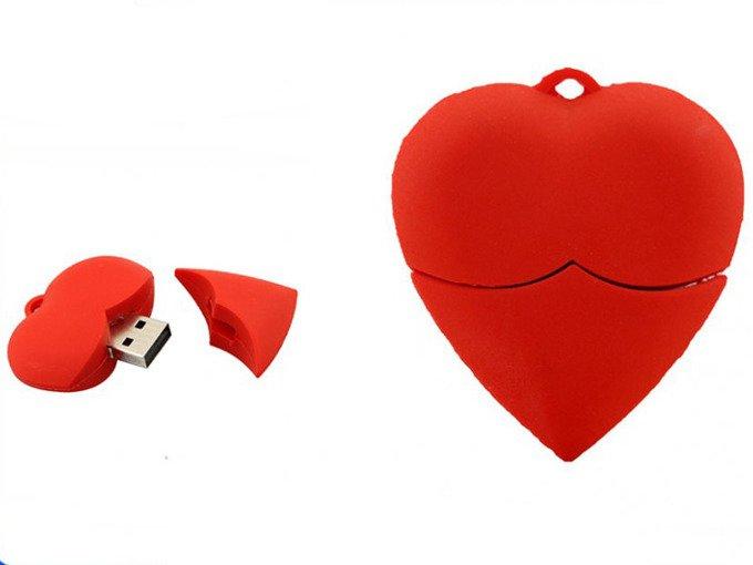 PENDRIVE SERCE SERDUSZKO USB Prezent PAMIĘĆ 8GB