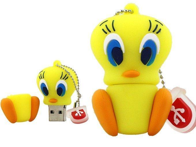 PENDRIVE TWEETY PTASZEK SYLWESTER USB Flash 8GB