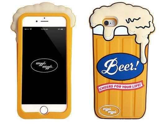 CASE ETUI SILIKON Apple iPhone 6 6S BEER PIWO