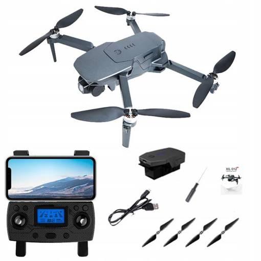 DRON XiL 012 PRO GIMBAL GPS 4K 5G WiFi 2 Kamery RC