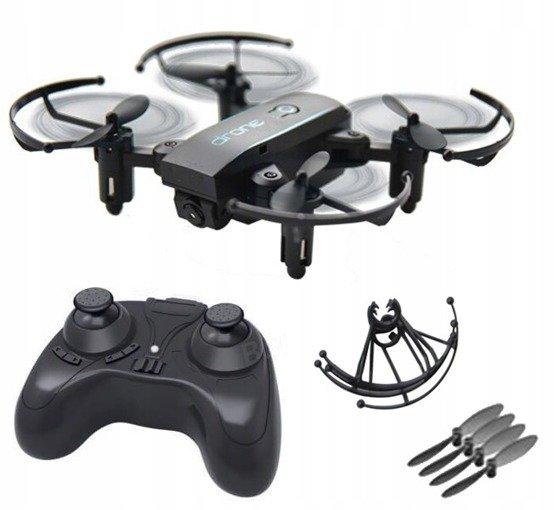Dron Mini SJY 1601 720P Zabawka WiFi FPV Czarny