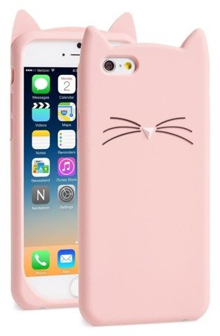 ETUI FUTERAŁ OBUDOWA iPhone 7 8 PLUS KOT KOTEK