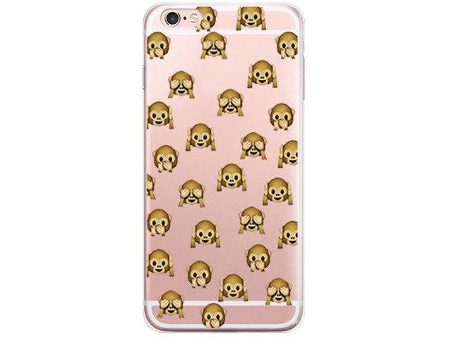 Etui Case Obudowa Silikon iPhone 6/6s Emotikony