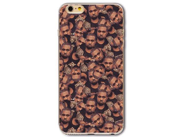 Etui Case Silikon iPhone 6/6s Kanye West TWARZE