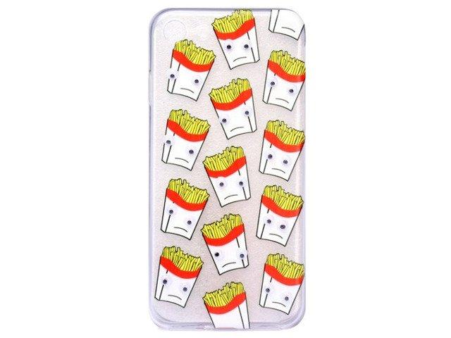 Etui Case Silikon iPhone 6/6s PLUS FRYTKI