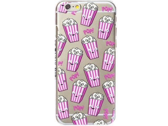 Etui Case Silikon iPhone 6/6s POPCORN