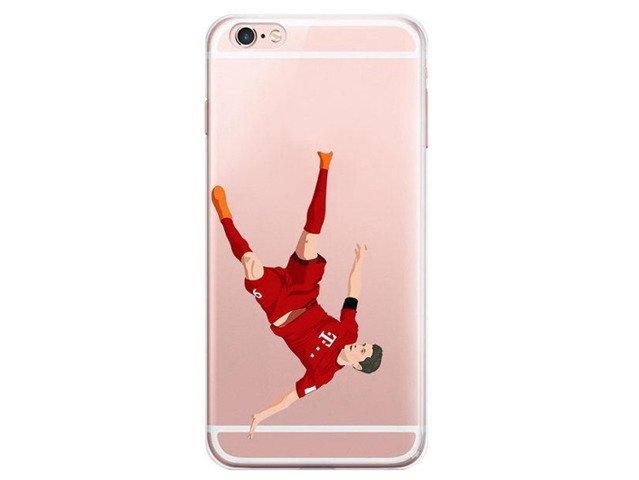 Etui Case Silikon iPhone 6/6s Robert Lewandowski