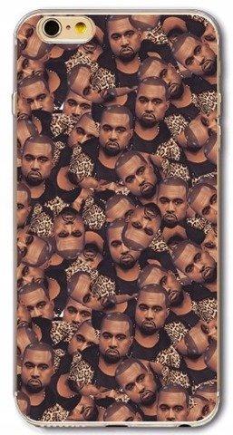 Etui Case Silikon iPhone 7 8 Kanye West