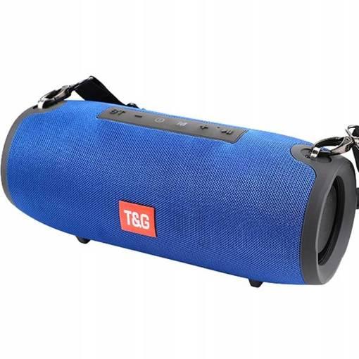 GŁOŚNIK BLUETOOTH T&G BOOM BOX 20W SD AUX USB TG118