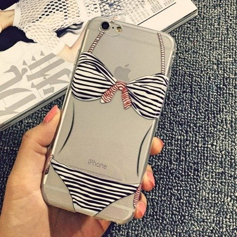 Obudowa Etui Case Silikon iPhone 6/6s Bikini