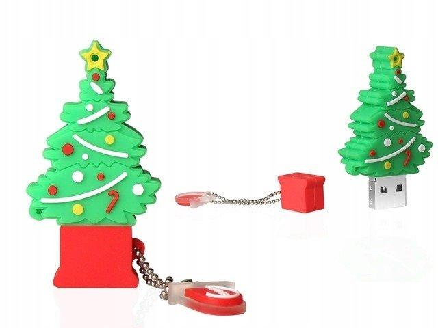 PENDRIVE CHOINKA Święta Prezent USB PAMIĘĆ 64GB