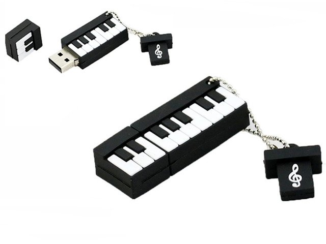 PENDRIVE KEYBOARD Muzyka USB PAMIĘĆ FLASH 16GB