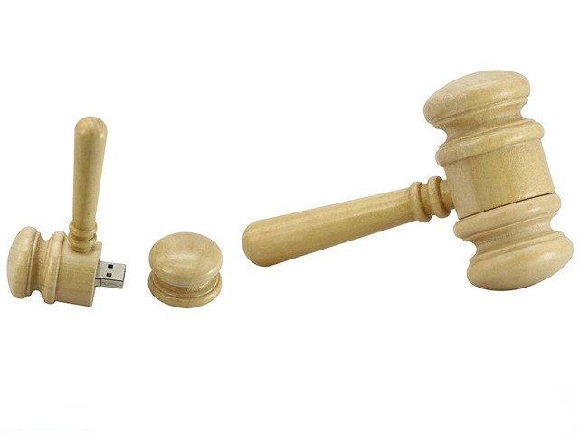 PENDRIVE MŁOTEK Sędzia Sąd USB Flash Prezent 64GB