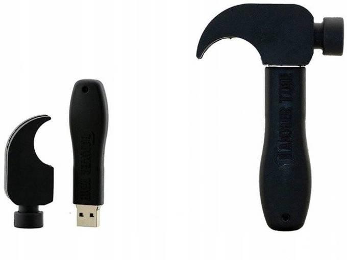 PENDRIVE MŁOTEK USB BUDOWA PRACA PREZENT 64GB