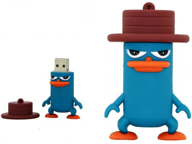 PENDRIVE PEPE AGENT P FERB FINEASZ USB FLASH