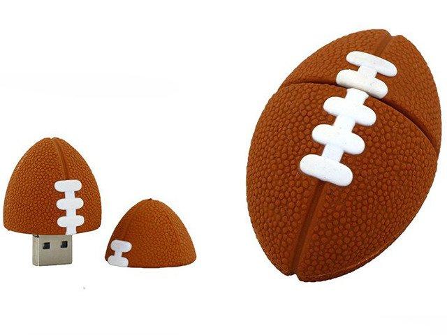 PENDRIVE PIŁKA Rugby Sport USB Flash PAMIĘĆ 8GB