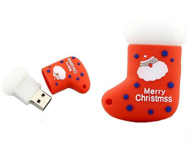 PENDRIVE SKARPETA Święty Mikołaj ŚWIĘTA USB 32GB