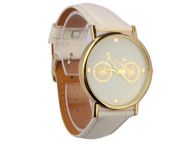 Zegarek ROWER Złoty PASEK GENEVA DAMSKI PREZENT